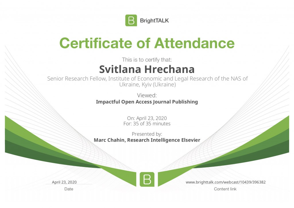 brighttalk-viewing-certificate-impactful-open-access-journal-publishing